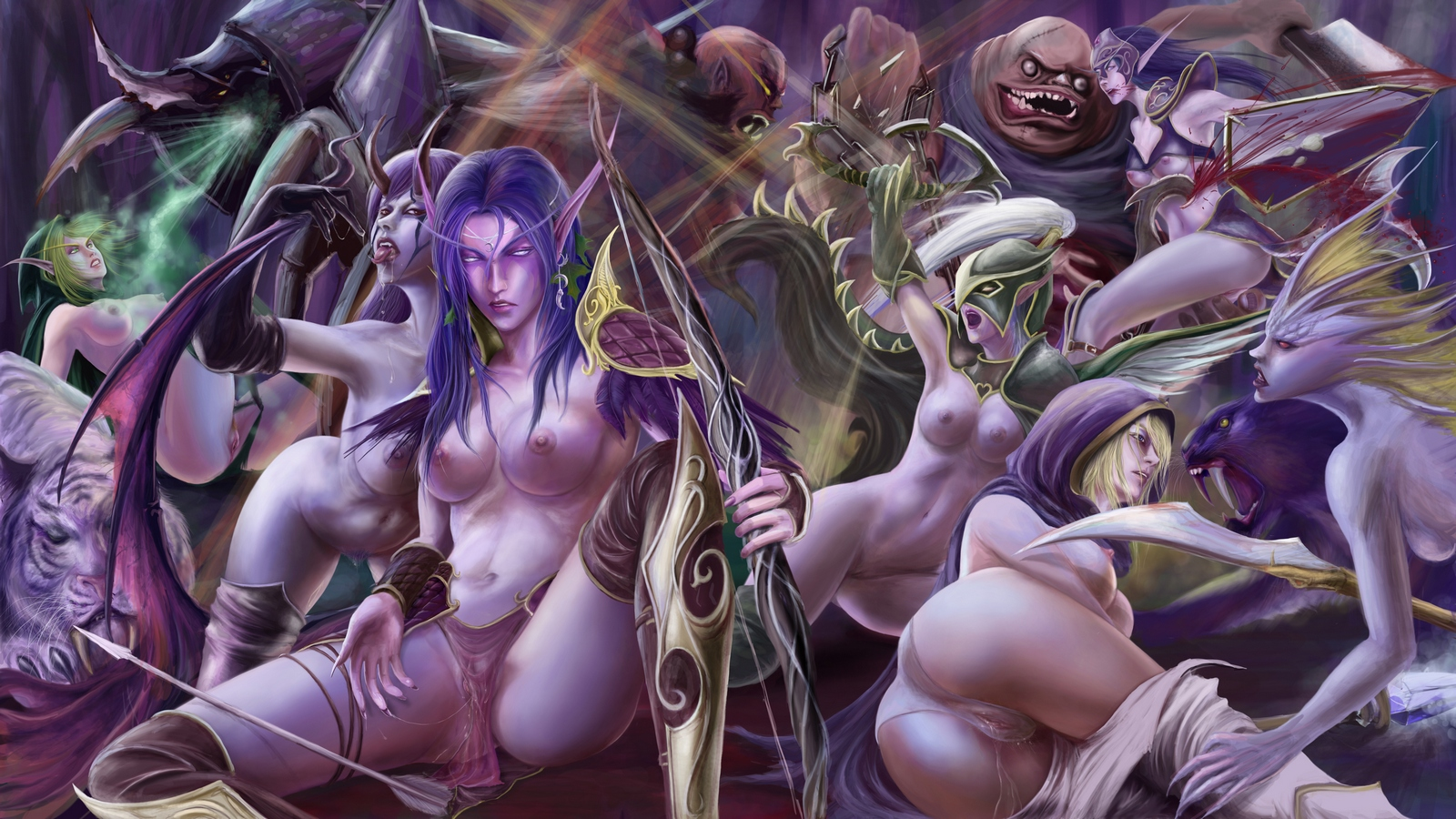 Orc vs night elf xxx hentia film